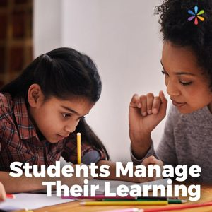 Students Manage Their Learning (icon)