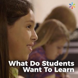 What Do Students Want To Learn