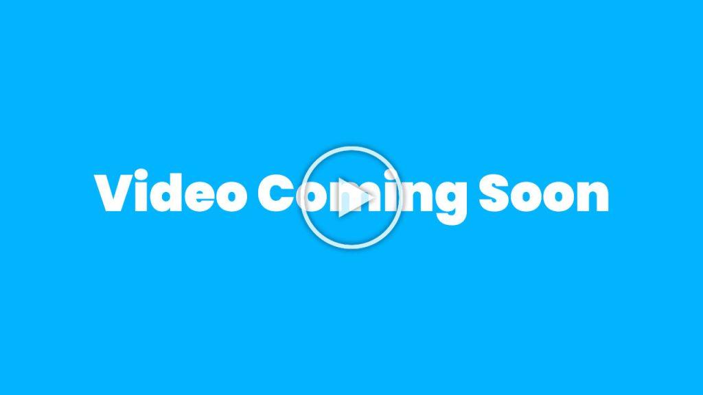 Video Coming Soon (Thumb)