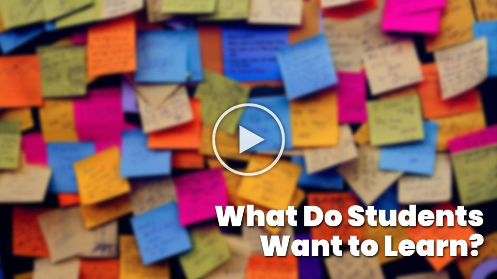 What Do Students Want To Learn? (Thumb)